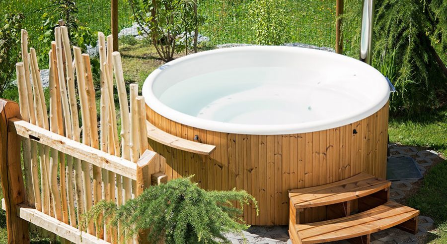 Vilka tillbehör till badtunnan behövs?
